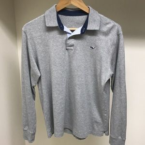 Vineyard Vine's Men's L/S Cotton Knit Shirt Small